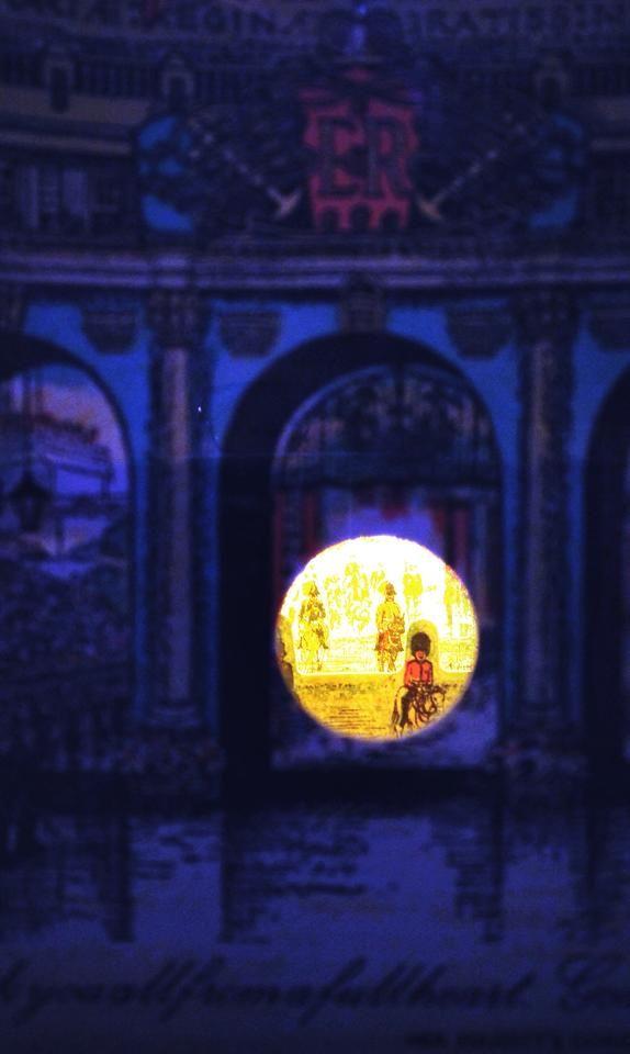 Spiando dal diorama...  :) Foto: Roberto Vicentini