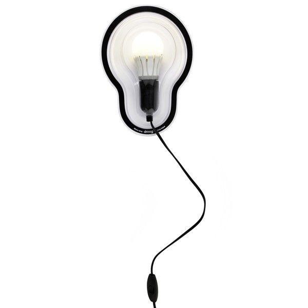 Sticky wandlamp LED   Droog