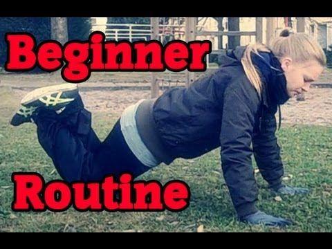 Calisthenics/Street Workout Beginner Routine