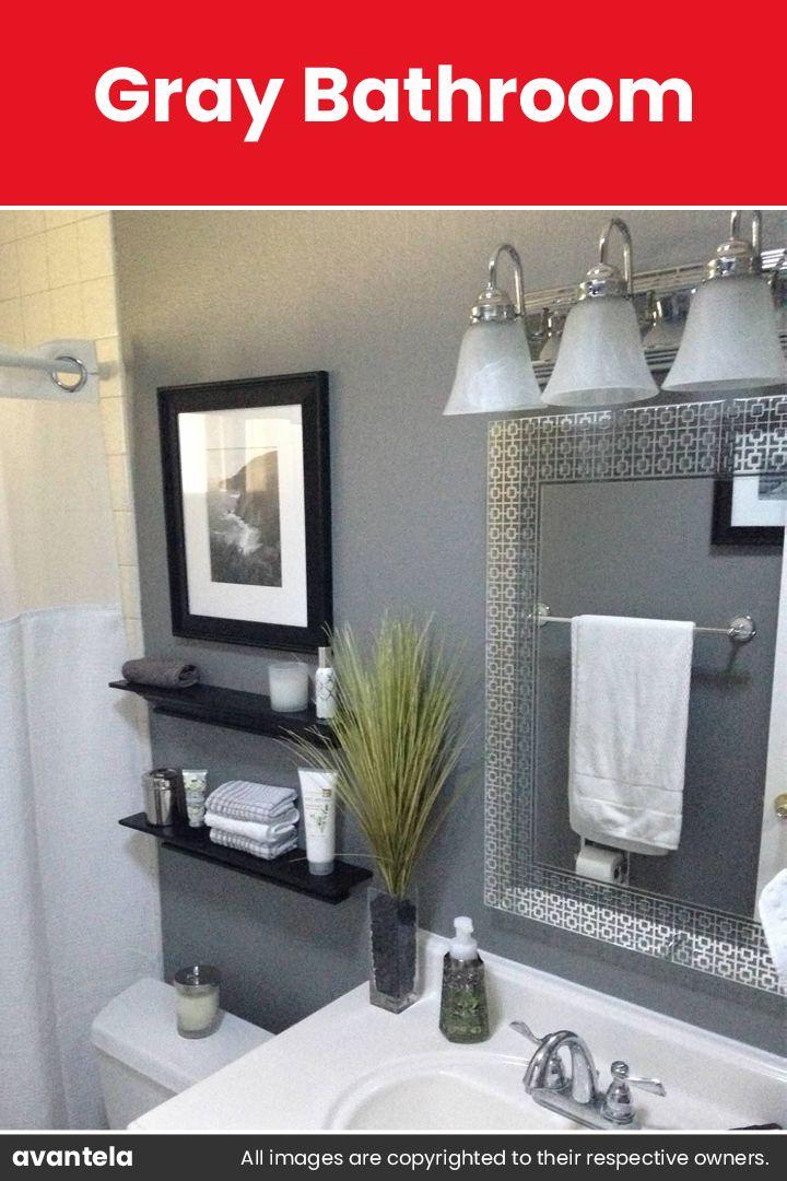 45 Grey Bathroom Ideas 2020 With Sophisticated Designs Grey Bathrooms Girl Bathrooms Girls Bathroom