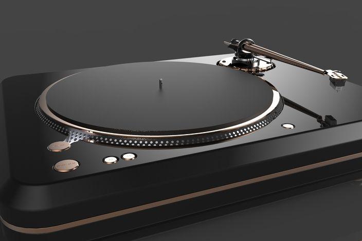 Technics SL 1200 Mk II Redesign & Reengineering Design Concept