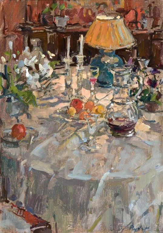 Susan Ryder, RP, NEAC, Artist and Painter - Interiors and Exteriors