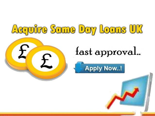 Same day loans UK are fast approval instant help provider loans which are given without any obligations to a borrower.