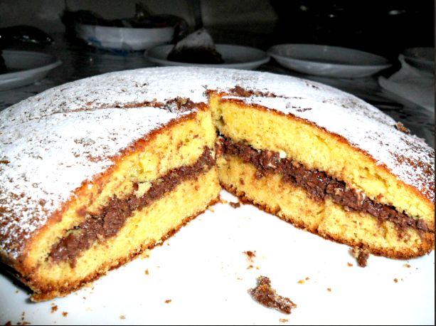 Una torta che di sicuro vi piacerà, la mia è andata a ruba