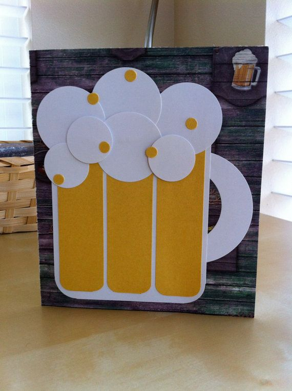 Card Making Ideas 21st Birthday Part - 18: Handmade Card Congratulations Fatheru0027s Day Birthday By KrystelleJoie, $2.99