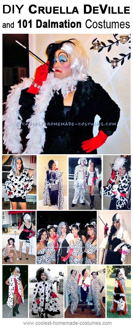 Homemade Cruella Deville Costume Collection - Coolest Halloween Costume Contest