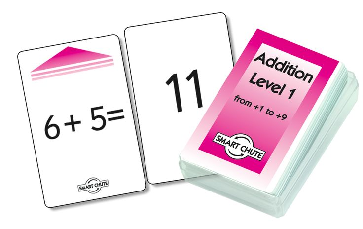 Smart Kids Smart Chute Addition Facts Level 1 Cards Set of 54 - Inclusive Learning - Categories