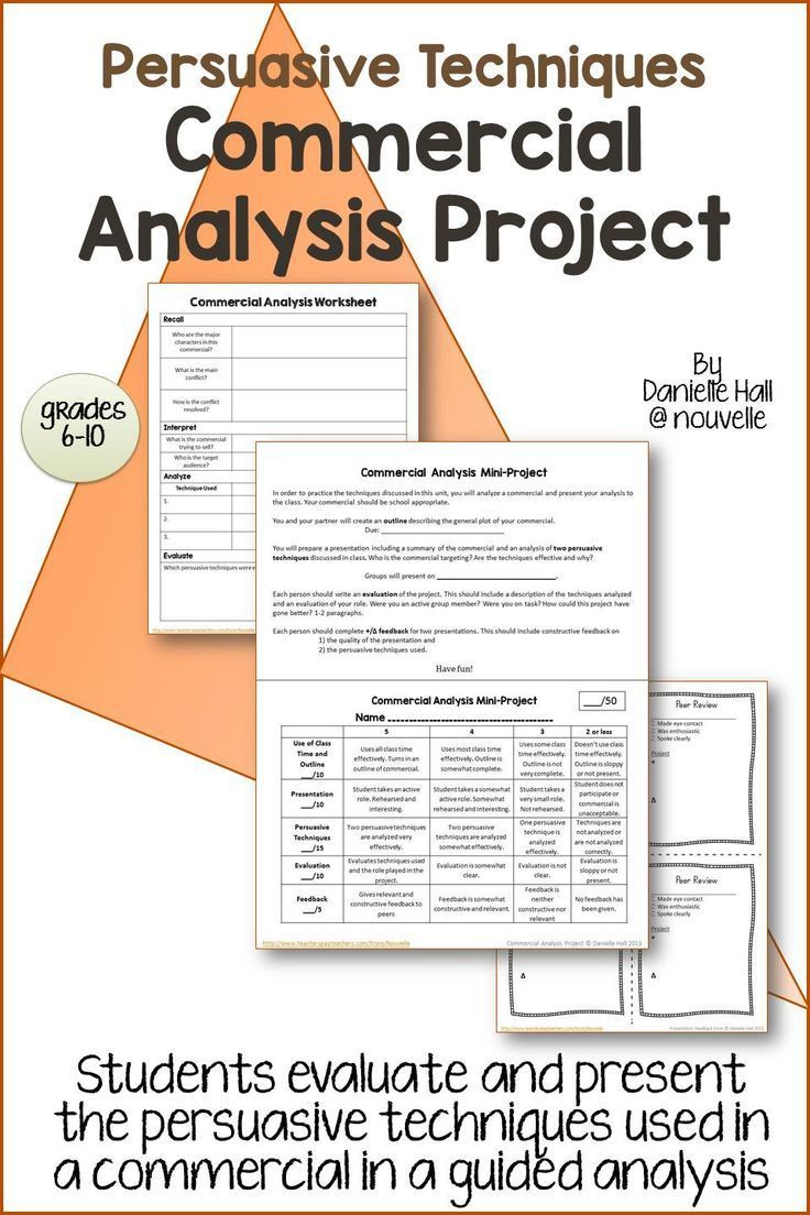 Worksheets Persuasive Techniques Worksheets persuasive techniques essay 6 traits of writing professional 17 best images about persuasion advertising anchor charts and