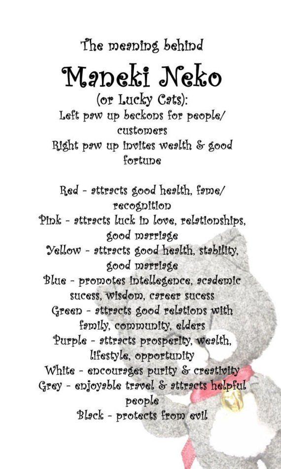 Maneki Neko Explained I Love Lucky Cats Ink Maneki