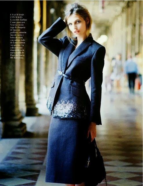 Karlina Caune  Vogue Spagna  Ottobre
