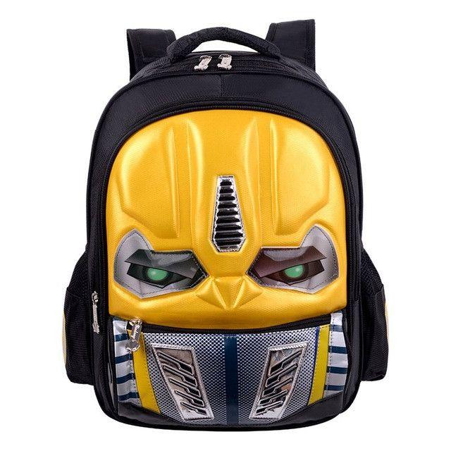 2017 New 3D Cartoon Cool School Bags For Boys Primary Children Backpacks Kids SchoolBag Orthopedic Bookbag Mochila