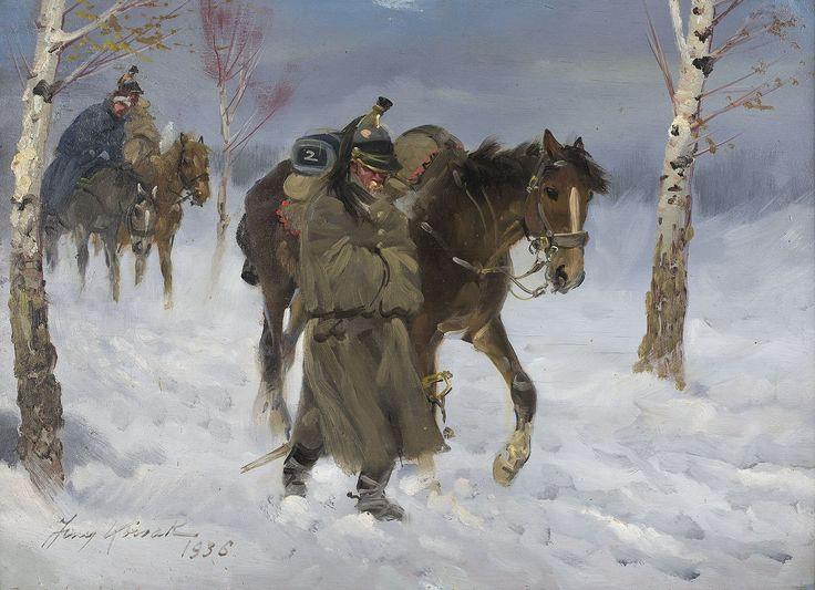 Odwrót spod Moskwy Jerzy KOSSAK