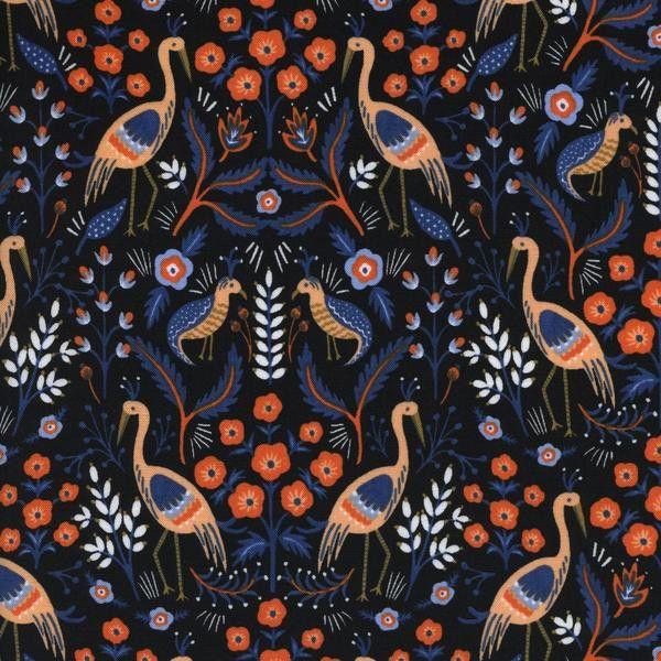 Collection: Les Fleurs Designer: Rifle Paper Co. Manufacturer: Cotton + Steel Fabric Details: 100% cotton