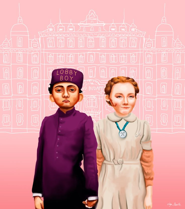 best grand budapest images grand budapest hotel  the grand budapest hotel by olga murillo via behance love this movie