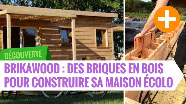 Brikawood : briques en bois pour maison écolo