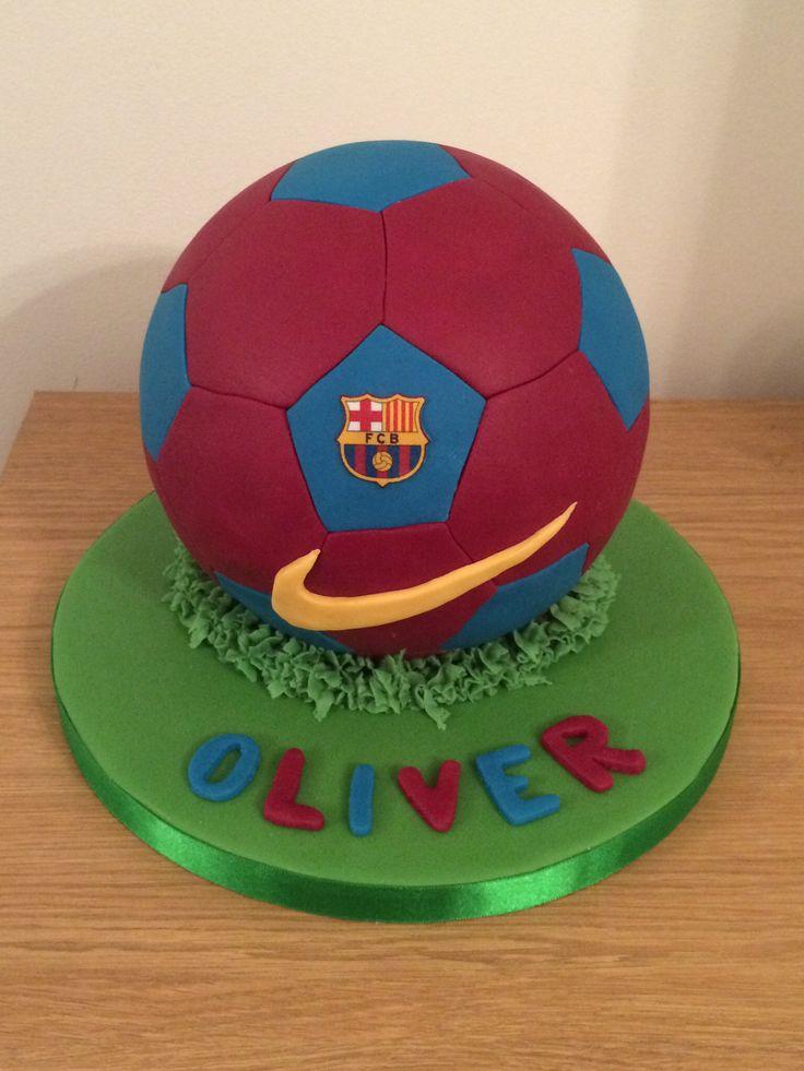 FC Barcelona cake