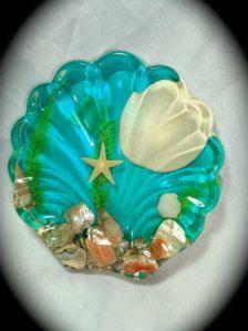 Bathroom Decor  Soap Dish. Decorative ...