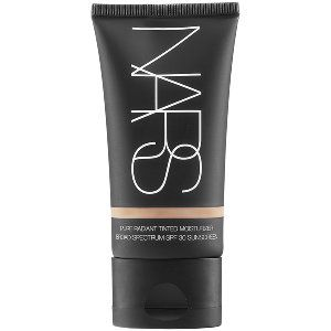 NARS Pure Radiant Tinted Moisturizer Broad Spectrum SPF 30 in Groenland - light medium with a neutral pink to peachy undertone #sephora