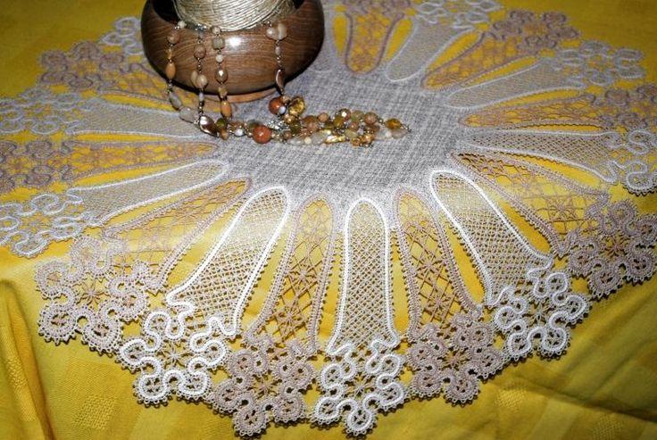Advanced Embroidery Designs - FSL Battenberg Snowflake Bookmark Set