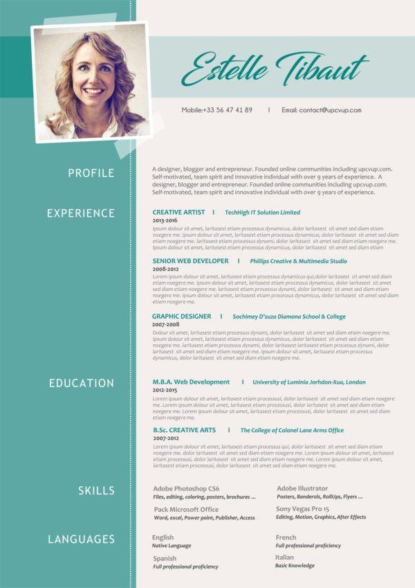 Curriculum Vitae Original A Telecharger Format Word Moderne Upcvup Cv Moderne Modele De Cv Moderne Exemple Cv