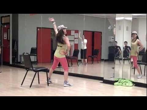 "Zumba Sentao Class with Patricia M - Swing ""Sabes que te Gusta Bailar"""