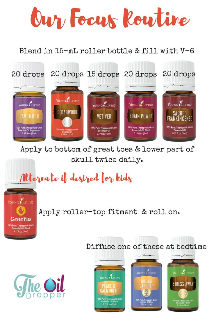 Learn more about my re-vamped FOCUS blend! http://www.theoildropper.com/best-essential-oils-focus/