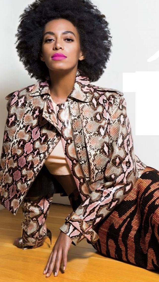 Solange For Essence Style Icon Solange Pinterest
