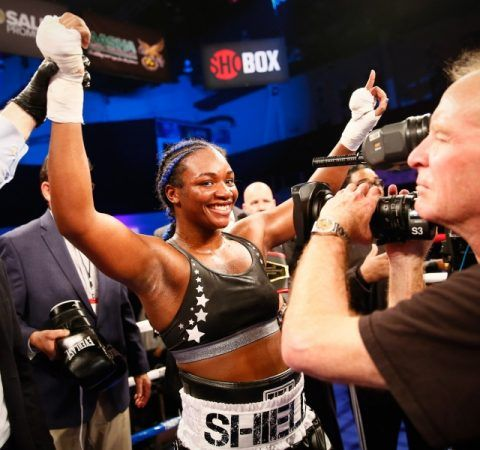 Claressa Shields: Give It To Them Champ (You've Got It) #ClaressaShields #Editorials #News #allthebelts #boxing