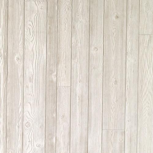 Alternating Width Whitewashed Wall Panels