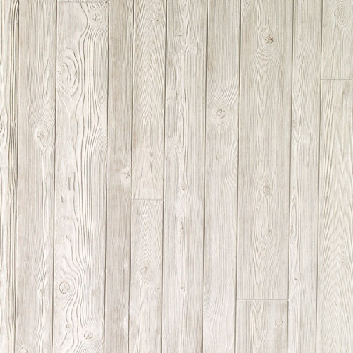Alternating Width Whitewashed Wall Panels