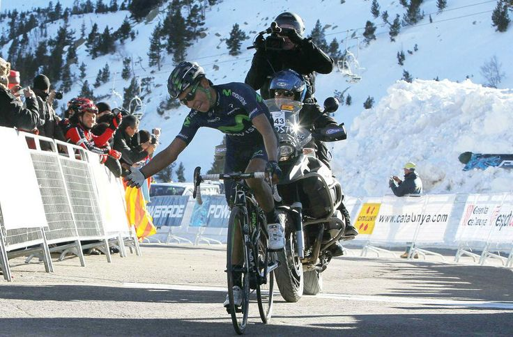 Nairo Quintana, 23, wins at #VoltaCatalunya. His 3rd UCI #WorldTour win after Dauphiné and Vuelta's stages last year
