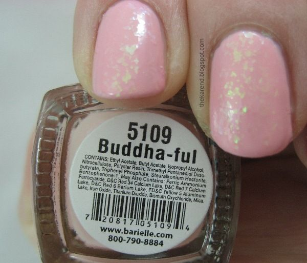layered on top of the pink was one coat of Buddha-ful: Layered, Shades, Tops, Pink, Buddha Ful, Coats