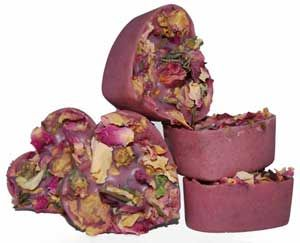 Rose Violet Bath Melts Recipe.  Been waiting for a way to pin this!