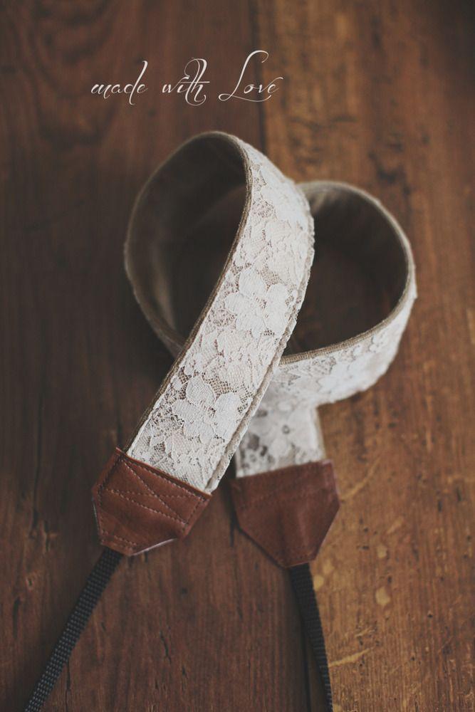 Camera Straps handmade with love...good idea for guitar straps