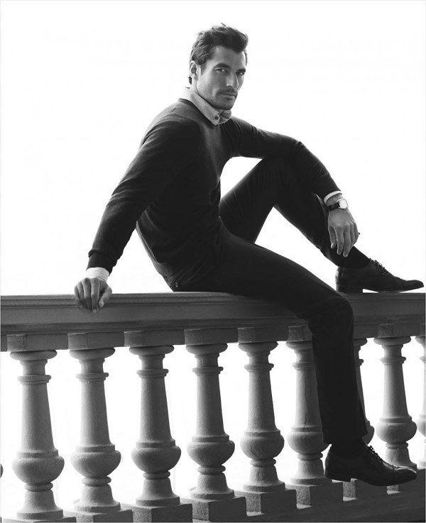 ru_glamour: Дэвид Ганди для Marks&Spencer осень-зима 2012-13