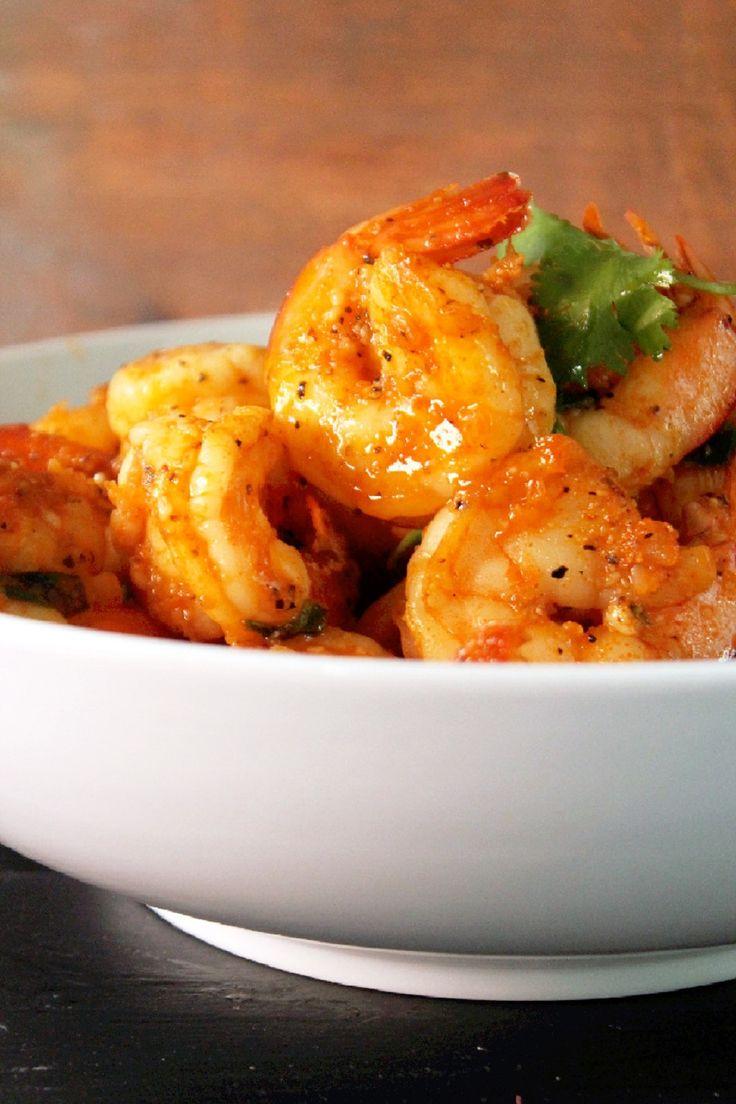 Red Curry Shrimp FoodBlogs.com