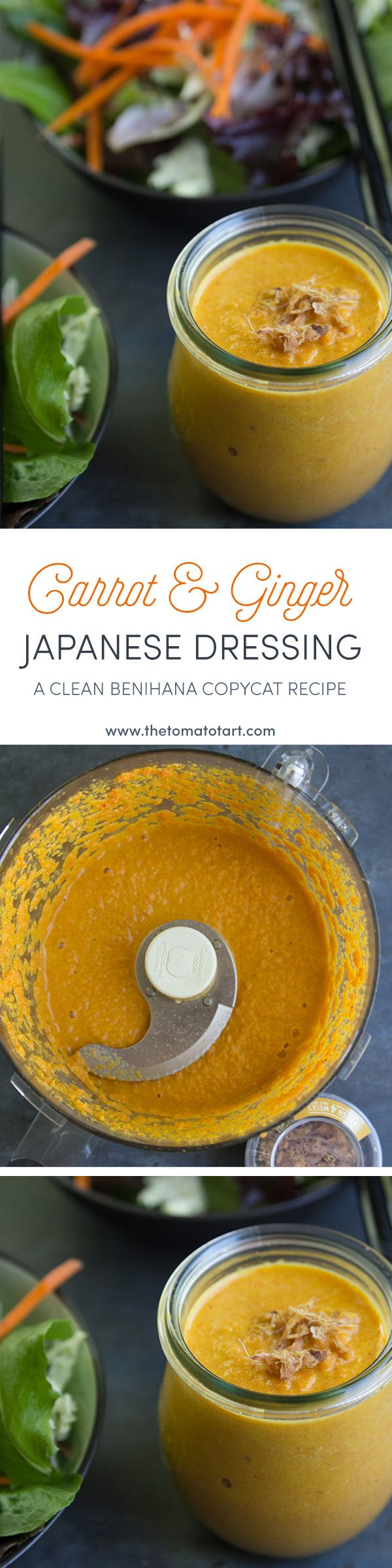 Carrot Ginger Salad Dressing Pin from The Tomato Tart @thetomatotart http://www.thetomatotart.stfi.re