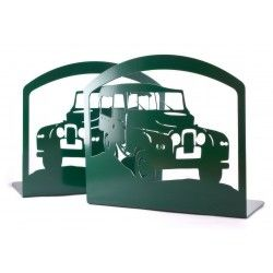 Land Rover Book Ends