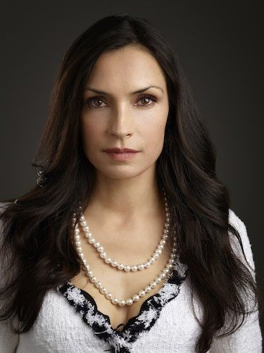 "Famke Jennsen as Joan Harrister-Lang, Duncan's mother in ""Nights in White Satin"""