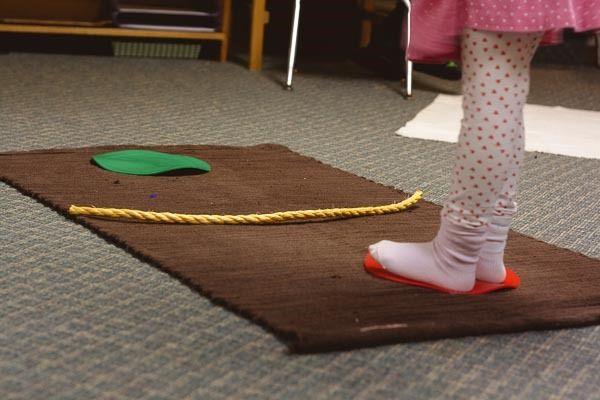 Montessori Movement Shelf - montessori works