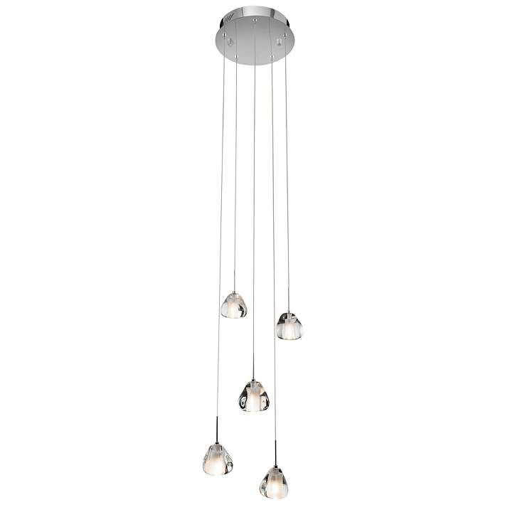 "Elan Elisa 12 1/4"" Wide Chrome Multi Light Pendant - #5K090 