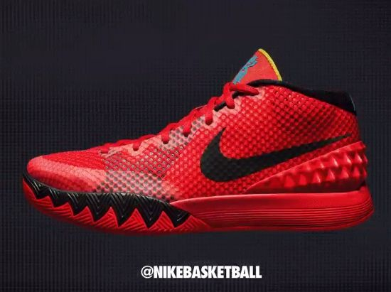 kyrie irving hyperdunk 2012 charles barkley shoes red