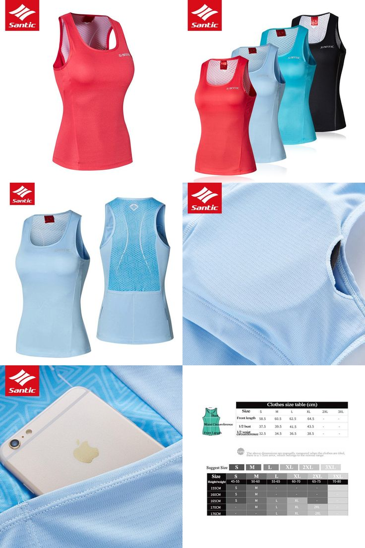 [Visit to Buy] 2017 Santic Cycling Jersey Women Tops Summer Sleeveless MTB Road Baseball Bra Padded Bicycle Bike Clothing Ropa Maillot Ciclismo #Advertisement