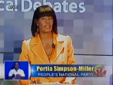 Portia Simpson-Miller is a non-homophobic Jamaican political unicorn