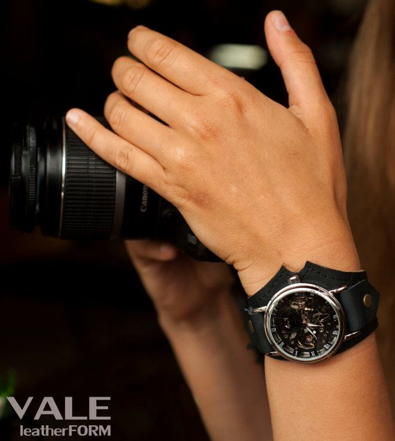 """Watch Black shape""""  Wrist watch is a beautiful everyday fashion accessory. It will suit beautifully to the girl with fine taste and with wish to"""