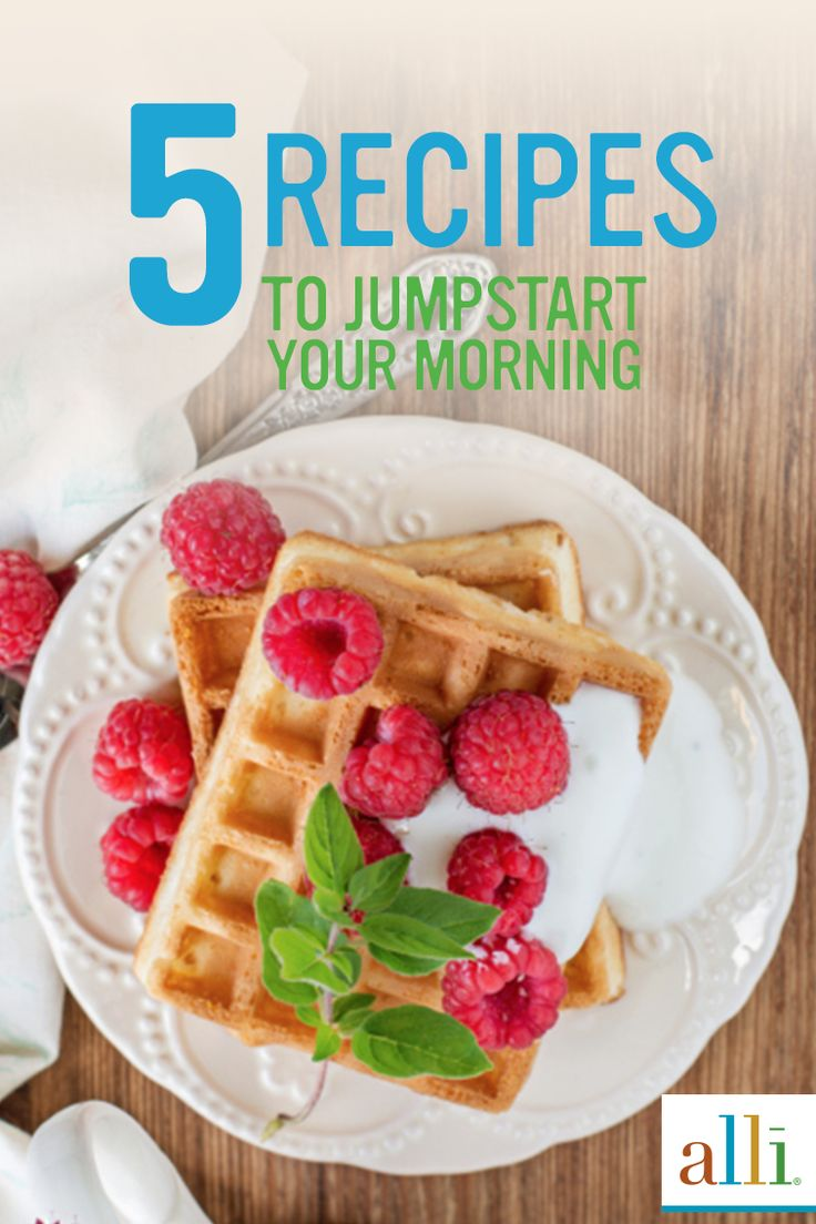 Need some ideas for healthy and satisfying breakfast options? Look no further than hundreds of creative recipes that don't sacrifice flavor from alli®! Discover delectable, reduced-calorie and low-fat meals to get you closer to your weight loss goals today.