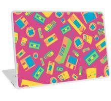 '90s Technology Pattern' Laptop Skin by ShiyaDigital