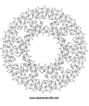 Printable mandala coloring page for adults