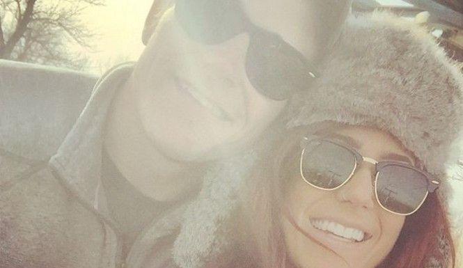 Chelsea Houska with boyfriend, Cole DeBoer.