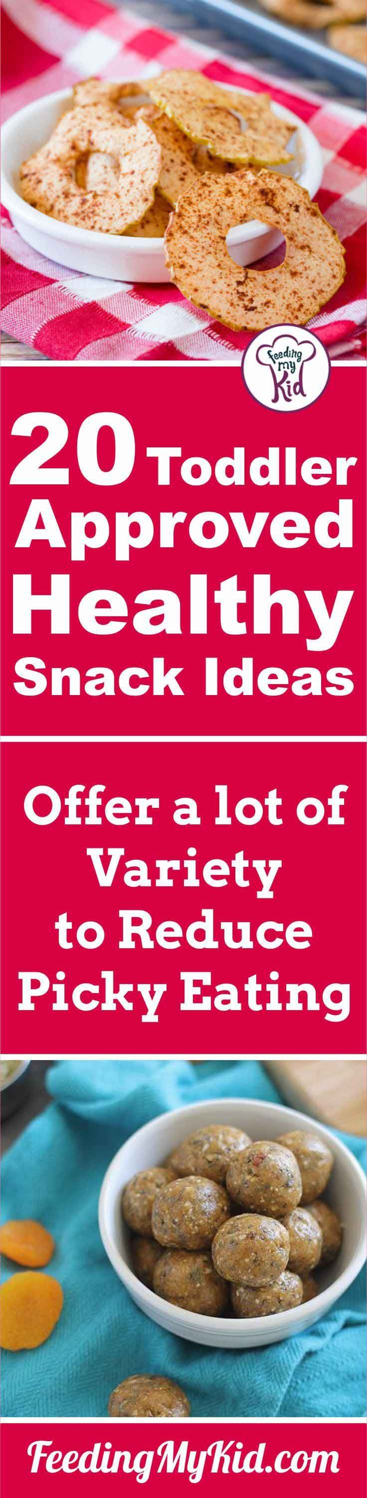 If you're looking for some healthy snacks for toddlers, look no further! This list has tons of different ideas your toddler will love to eat.